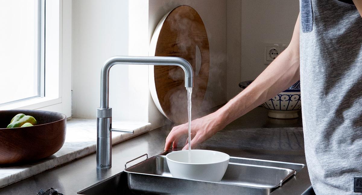 Quooker kokendwaterkraan de waswacht witgoedspecialist